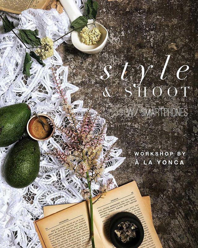 """Merhabalar, 29 Mayıs Salı, 11:00-14:00 arasında Suadiye @atolyeveranda 'da ikinci @yoncamuslubas """"style&shoot"""" workshop'ı kaçırmayın. Neler olacak: - styling ve fotoğraf çekimiyle ilgili genel prensipleri öğrenip, ışık, renk kullanımı, dokular, açılar gibi temel konuları işleyeceğiz. - görsel hikayeler için mizansen nasıl kurgulanır hakkında konuşacağız. - konuştuklarımızı uygulamaya dökeceğiz. - en son da telefonla editleme üzerinde pratik yapacağız.  Kimler için: - akıllı telefonlarıyla daha iyi fotoğraf çekmeyi öğrenmek isteyen herkes:) - bloggerlar - sosyal medya vb için görsel içerik üretenler - sosyal medyada kendi markasını, hesabını yönetenler - keyfi ve zevki için görsel paylaşımlarını daha estetik yapmak isteyenler  İlgileneceğini düşündüğünüz arkadaşlarınızı haberdar etmek için onları tag'larseniz ne harika olur🧡  Rezervasyon için @atolyeveranda 'ya DM'den ulaşabilirsiniz:) . . . . #styletheseason #fromwhereistand #seekthesimplicity #flatlaynation #styleandshoot #alayoncaworkshops #atolyeveranda #propstyling #foodstyling #foodstylingprops #foodstylingandphotography #stillography"""
