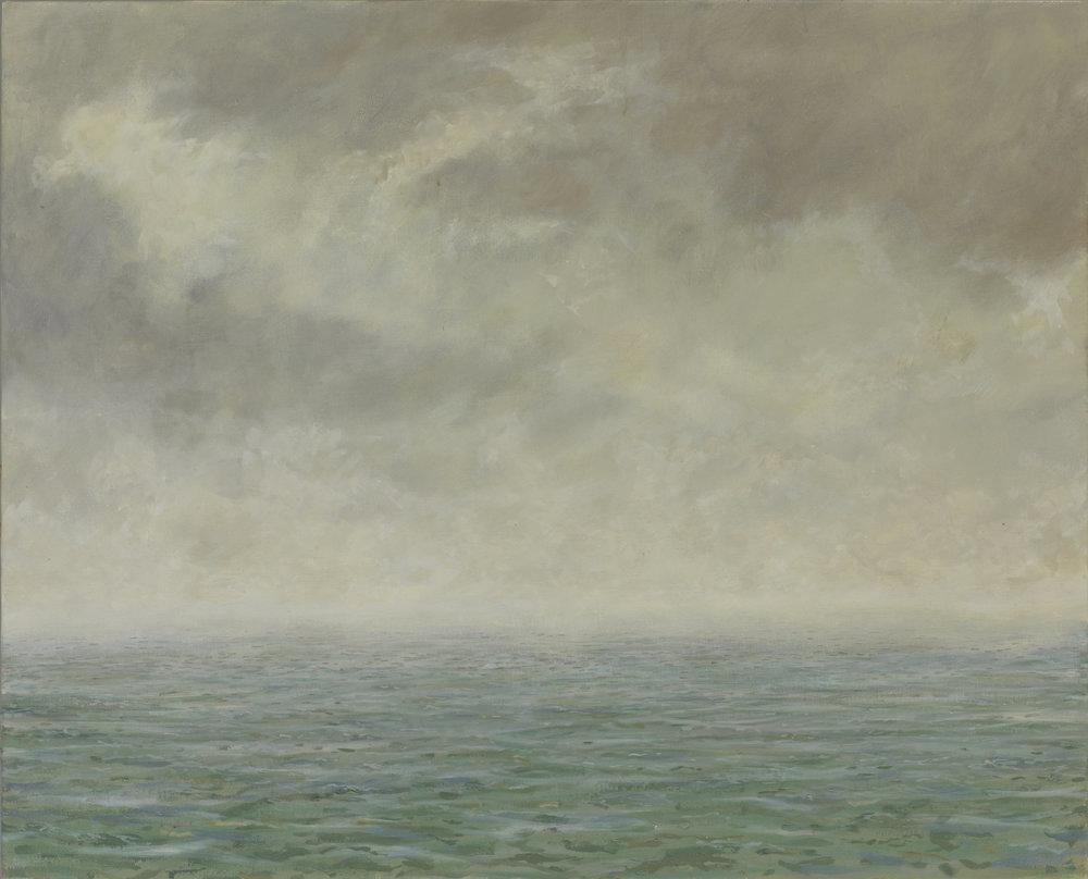 Morning Rain Light Looking towards Colonsay ( Oil on Linen ) 81 x 100 cm