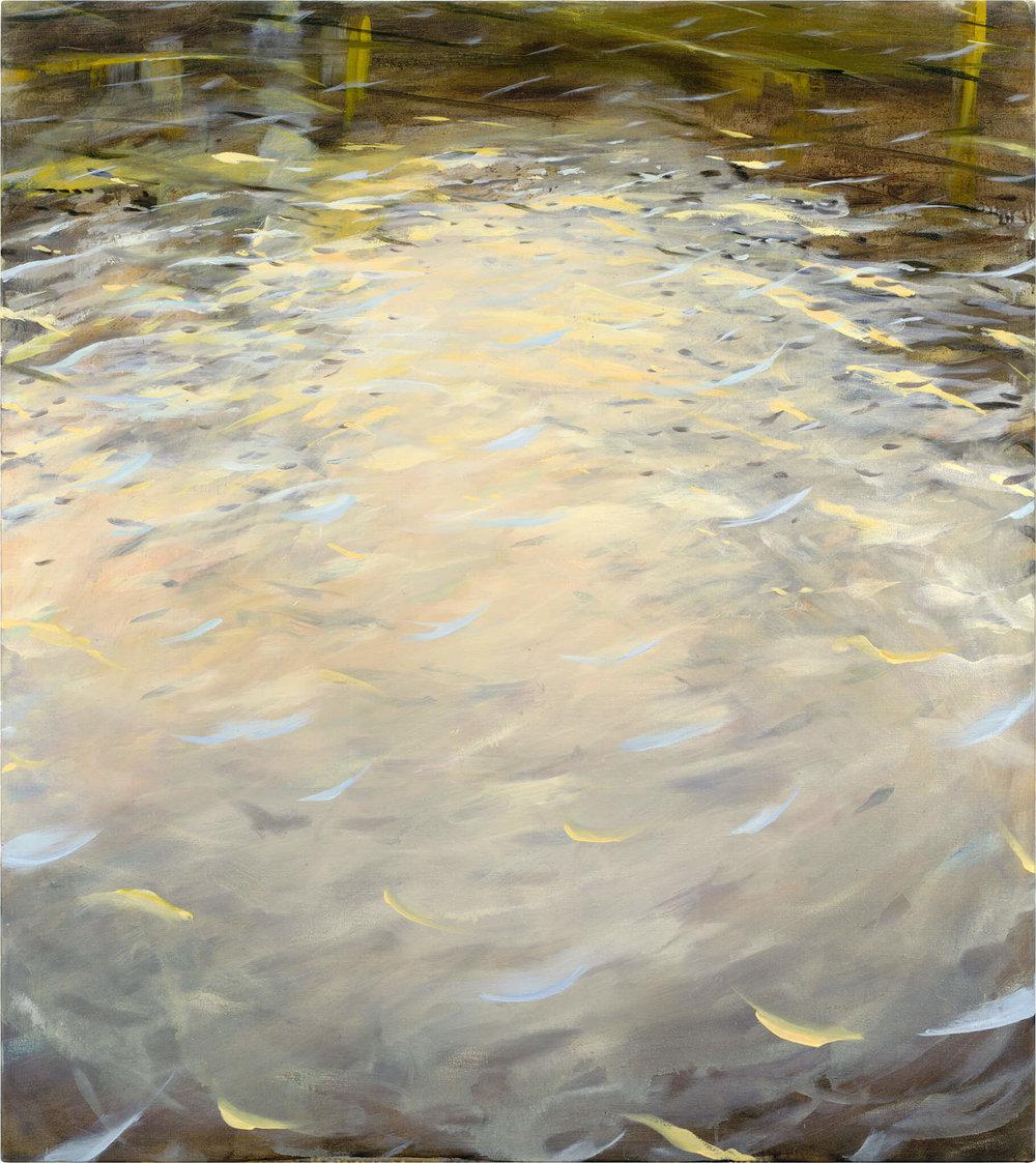 RHSK015 Matsubarako Lake Dusk ( Oil on Linen ) 146 x 131 cm