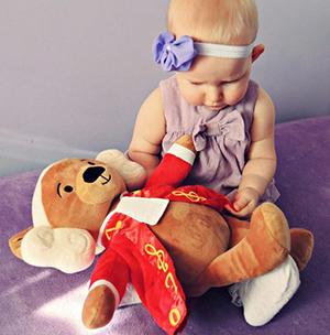Zosia, 9 months