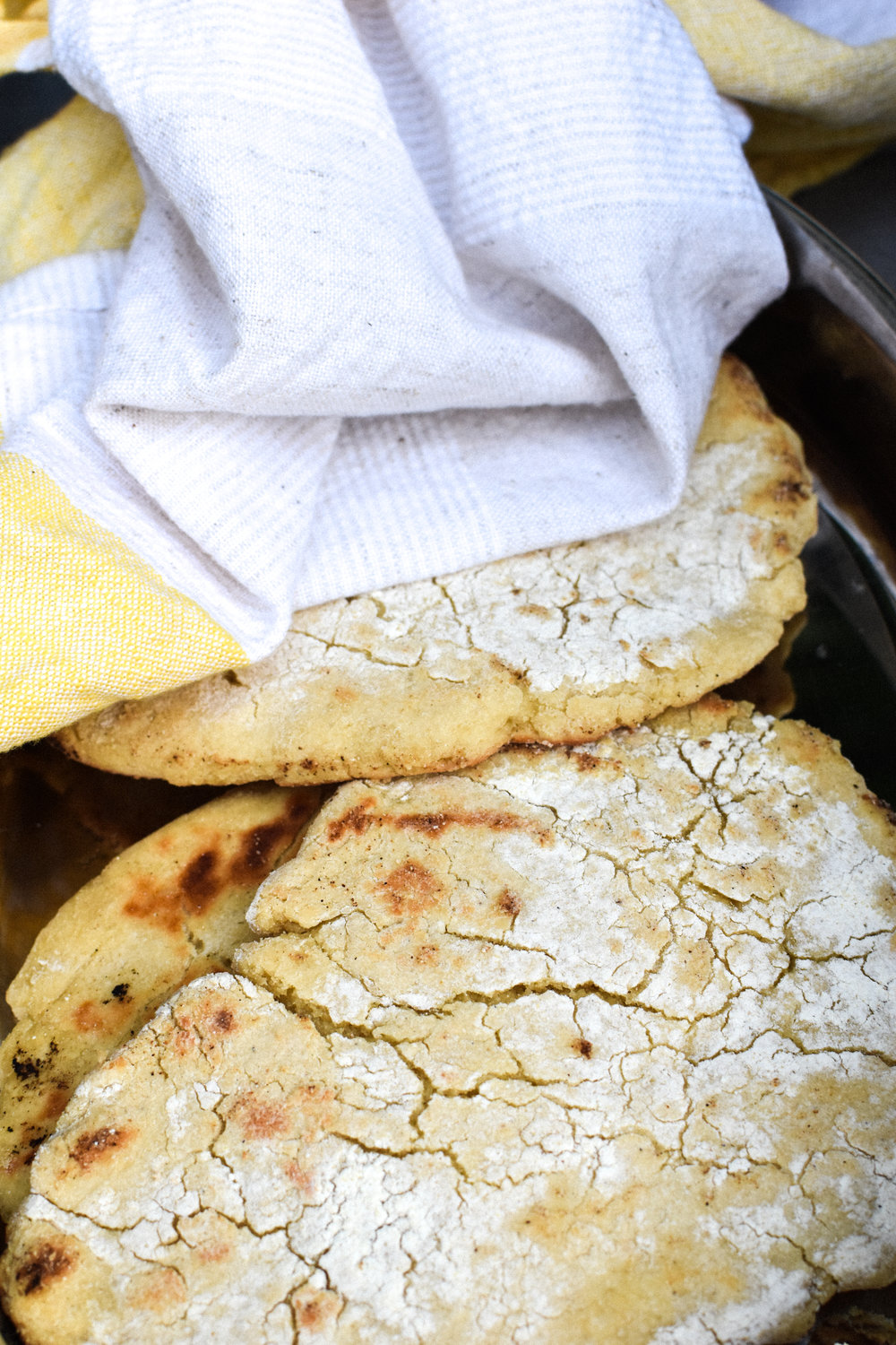 grilled naan bread {vegan + gluten-free} - Make Mary