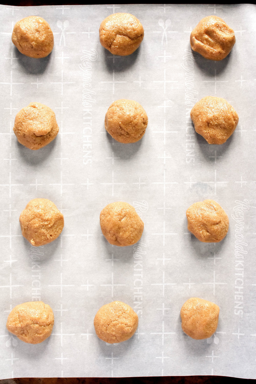 Easy Vegan and Gluten-free Tahini Cookies