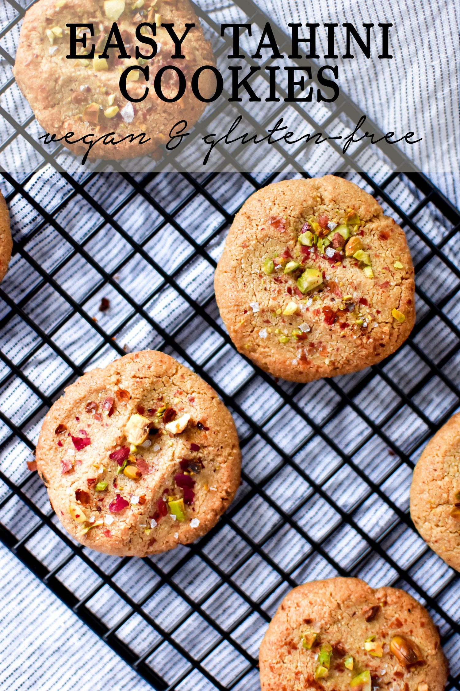 Easy Tahini Cookies
