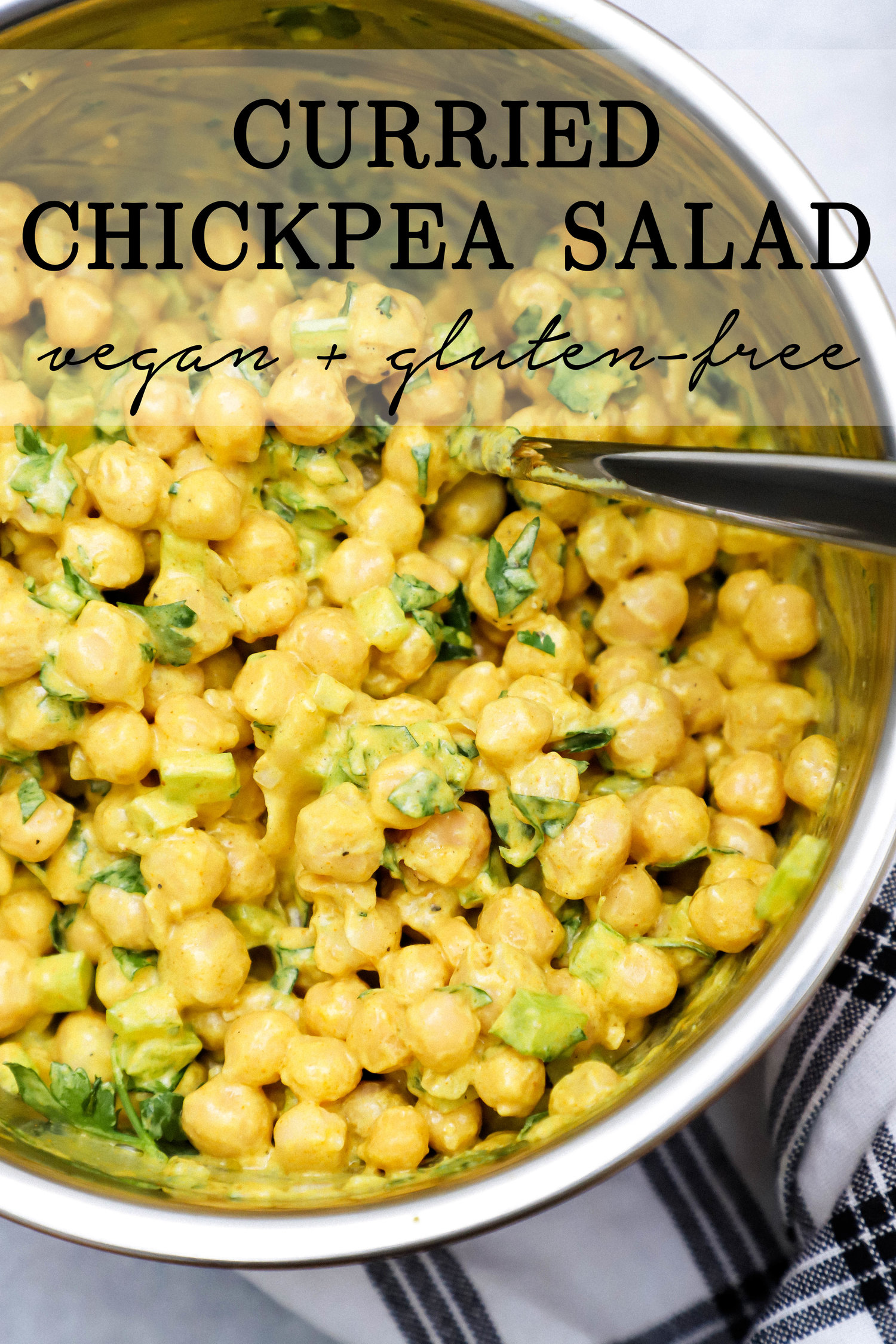 Quick Curried Chipea Salad