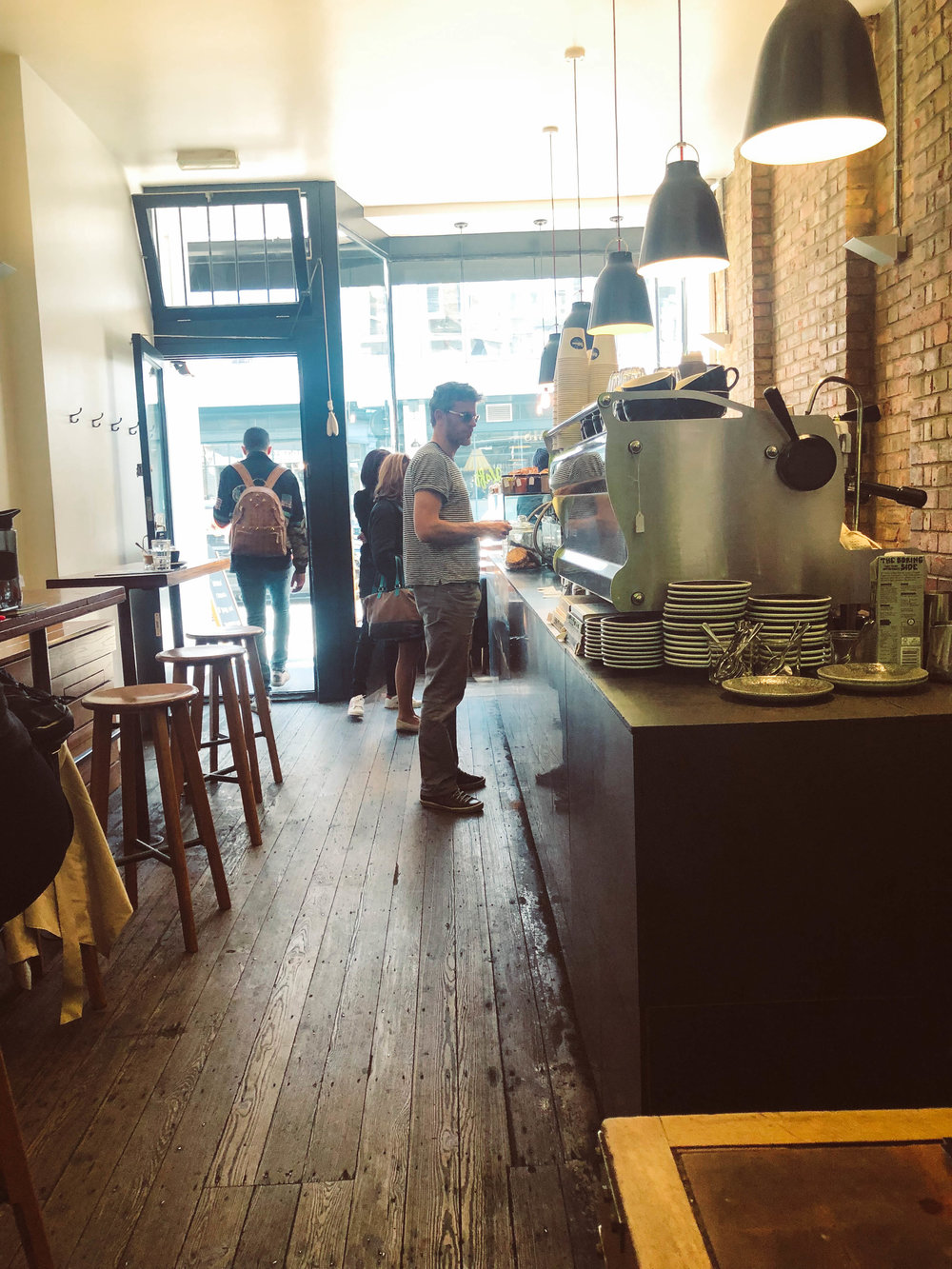 Kaffeine Coffee in London