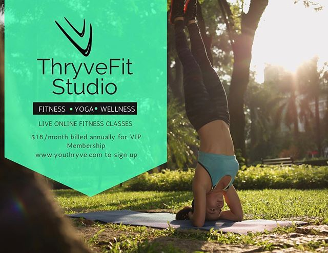 Unlock your potential 🔑 with a community that supports your individuality. . You are unique. So why would you settle into a cookie cutter program that is based solely on generic algorithms and broad spectrum research? . You want answers about YOUR body right? . That's why I am launching ThryveFit Studio. ThryveFit Studio will bring 💦Live Workouts to you at Home 🍱Nutrition Guidance to help you navigate YOUR Body 🎾Packaged Training Programs for Athletes 🚦Training Blueprint to Help You THRYVE 👩🏽💼Female Specific Training Programs! 🎙Podcast topics with experts in the field of Health & Wellness ... And so much more. This is the beginning! We want to empower you with the tools necessary to fully embrace your life in all its crazy, messy, quirky, unique ways that make your life... YOURS! . Sign up for the VIP Membership today! Just $220 for the year... that's just under $18/month! . You spend more on coffee a month than that! Launch begins May 15th! . Sign up now! . . . #thryvefitstudio #thryve #wednesday #nutrition #hiit #onlinetraining #yogateacher #fitnesscoach #coach #awake #aimtrue #believe #unstoppable #pushyourlimits #girlboss #huffpostwomen #tedtalk #womenforwomen #sheknows #blogher