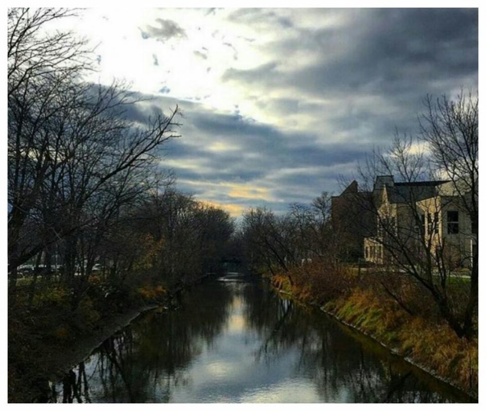 Ottawa River on UT's Campus