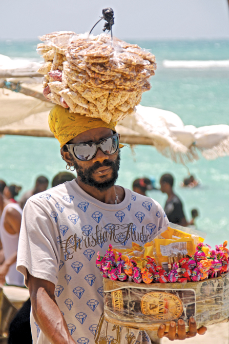 Nutsy - Beach Vendor - Hellshire