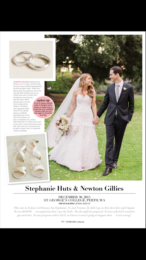 Bride to Be Magazine - Australia - 1/4