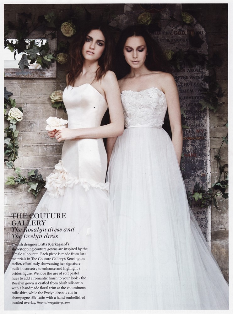 Brides Magazine July/Aug 2016 - Rosalyn & Evelyn