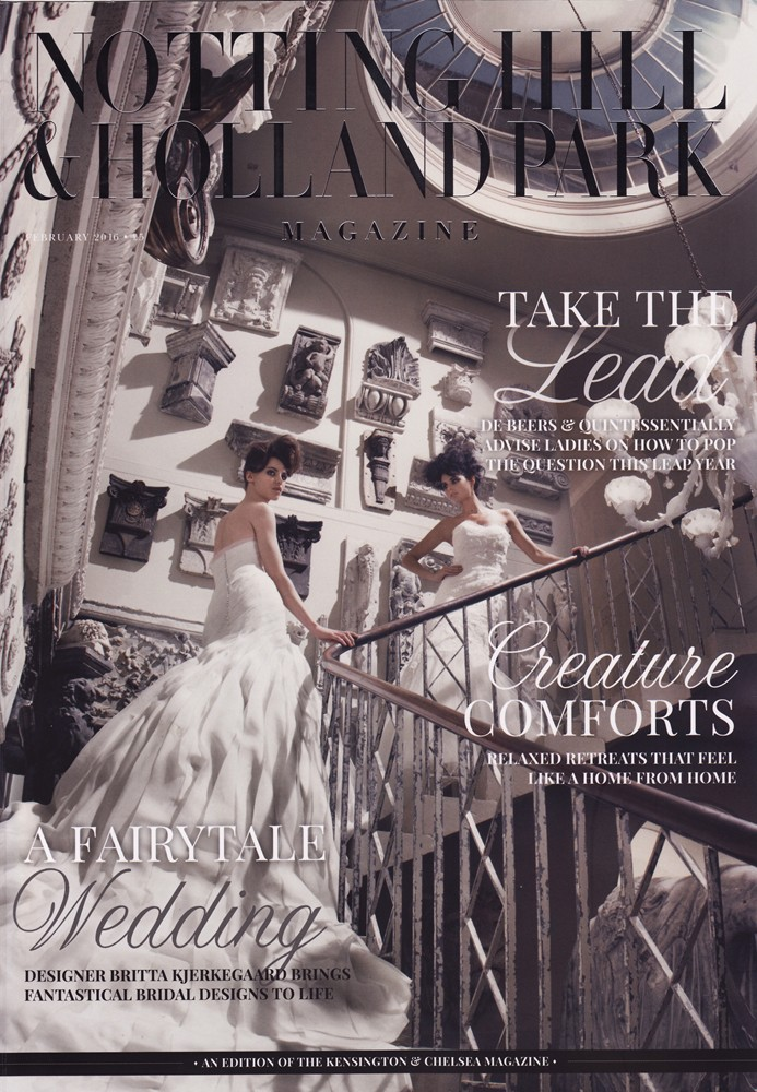 Notting Hill & Holland Park Magazine Feb 2016 - Cover