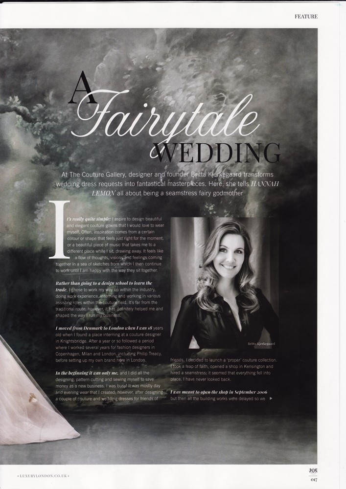 Notting Hill & Holland Park Magazine Feb 2016 - Designer Profile - 2/4