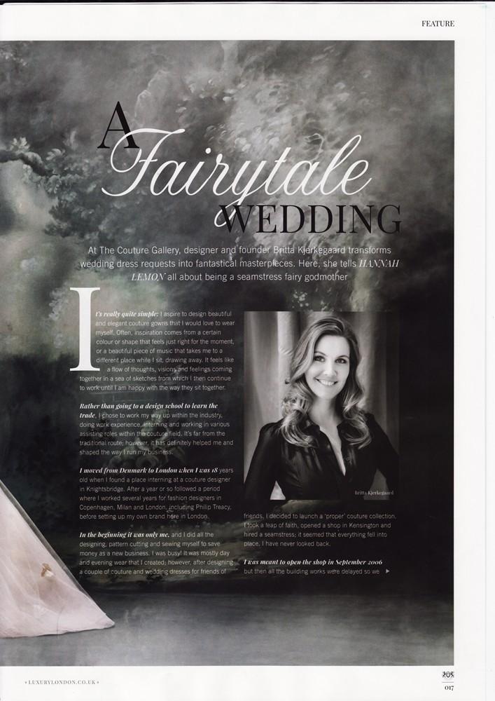 Notting Hill & Holland Park Magazine Feb 2016 - Designer Profile - 2/4