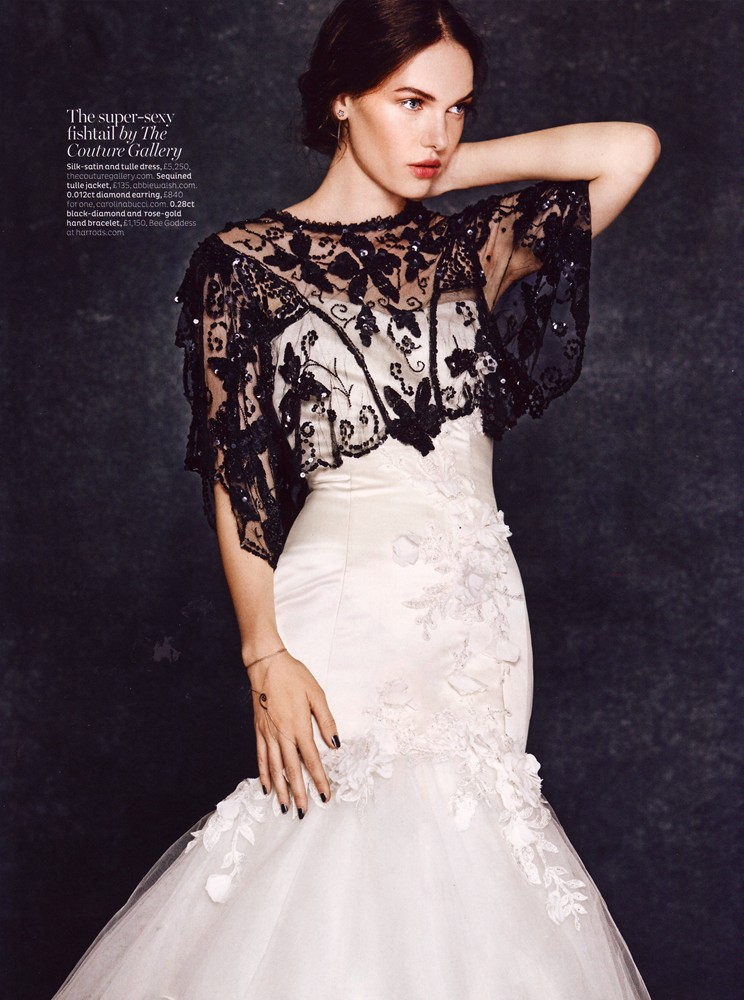 Conde Nast Brides Magazine Nov/Dec 2015 - The Astibe Gown