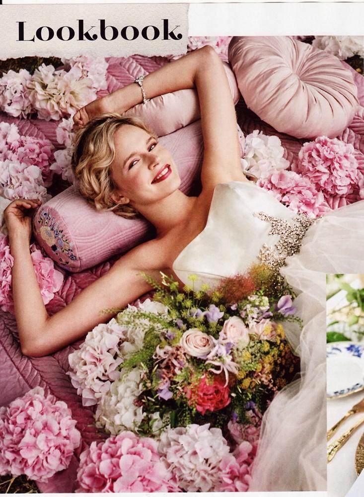 Conde Nast Brides Magazine Nov/Dec 2015 - The Athene Gown