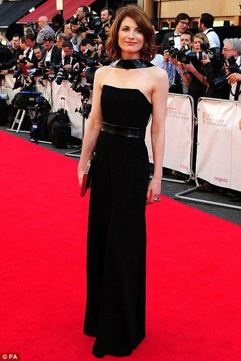 The TV BAFTA awards 2014 - Actress Jodie Whittaker
