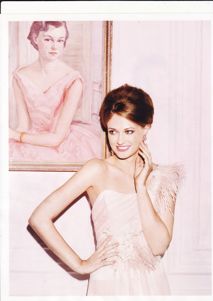 Conde Nast Brides July/Aug 2014 - The Blushing Swan