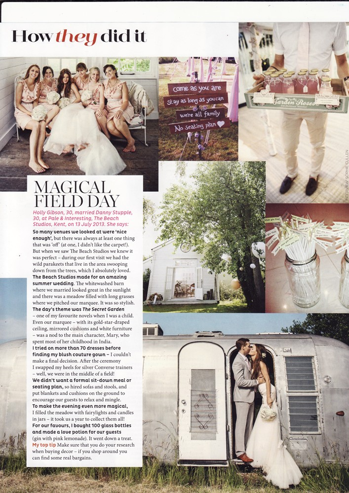 Conde Nast Brides July/Aug 2014 - Real Brides - 1/2