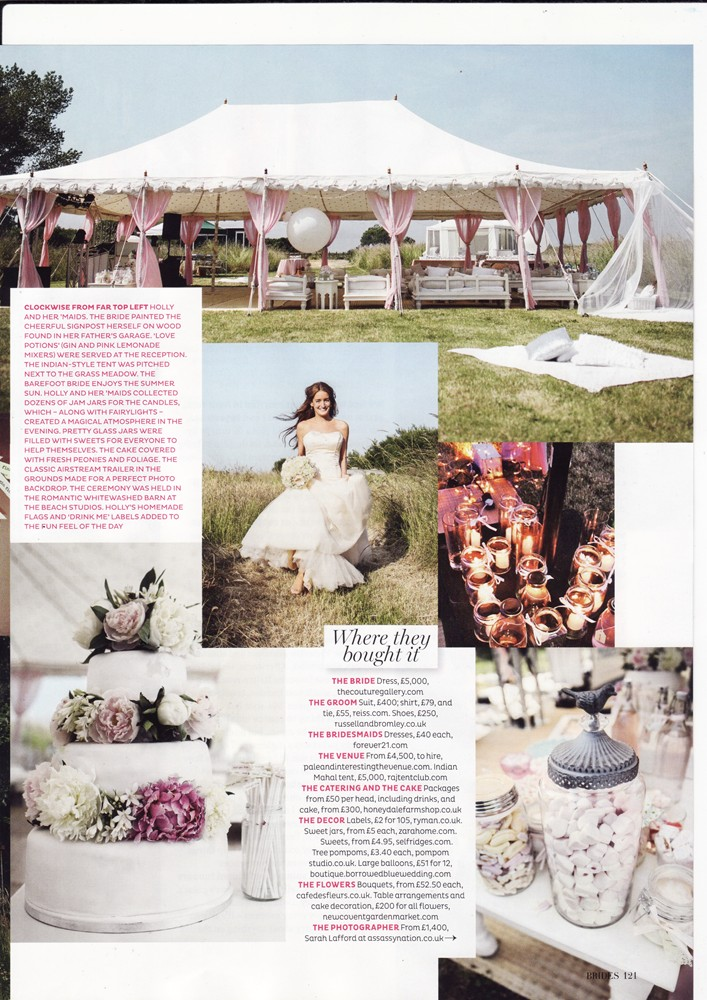 Conde Nast Brides July/Aug 2014 - Real Brides - 2/2
