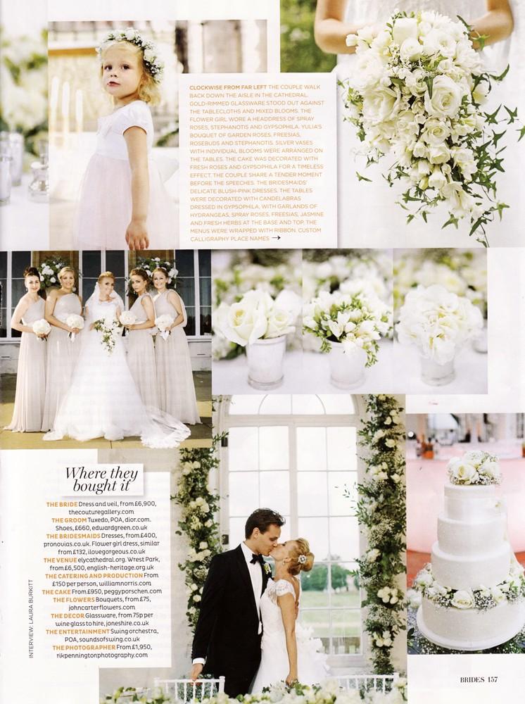 Brides Magazine Sep/Oct 2013 - Real Wedding - 2/2
