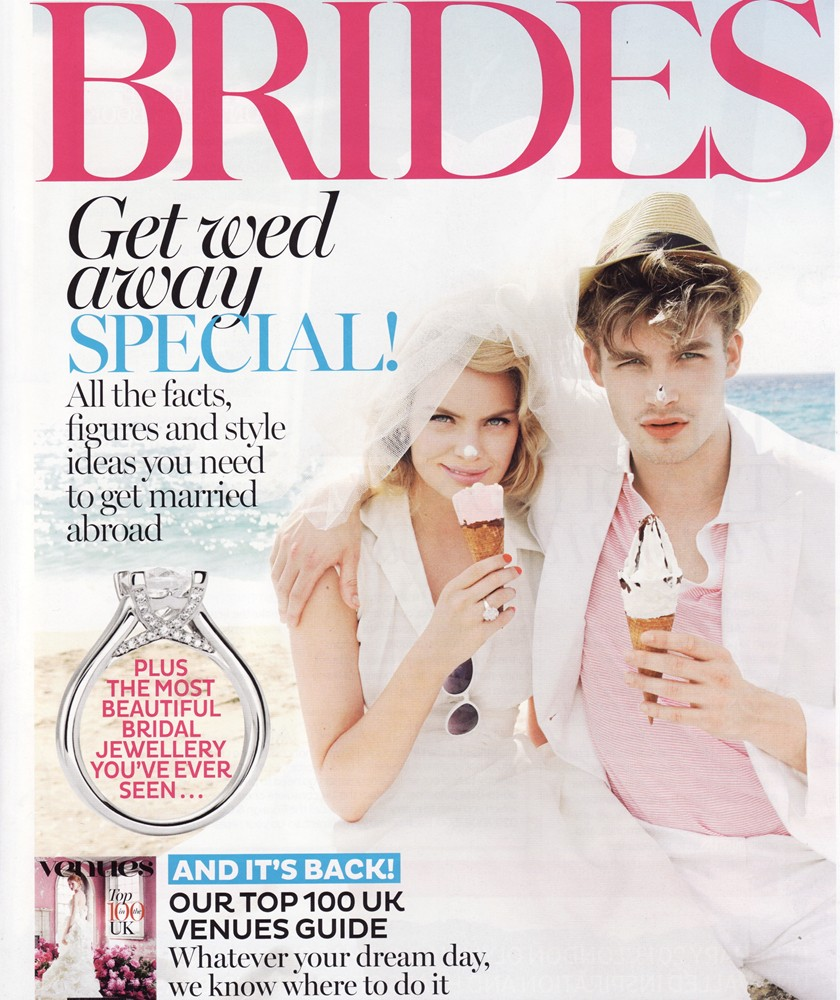 Brides Jan/Feb 2013 - Elegance Dress