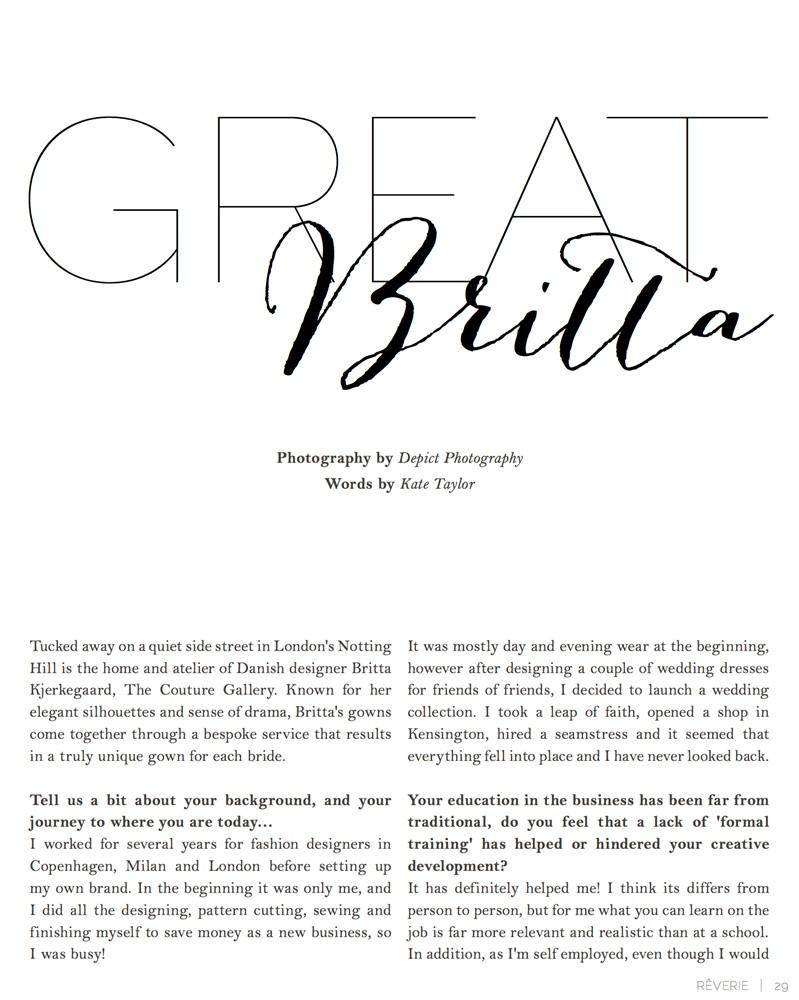 Reverie Magazine July 2012 - 1/6