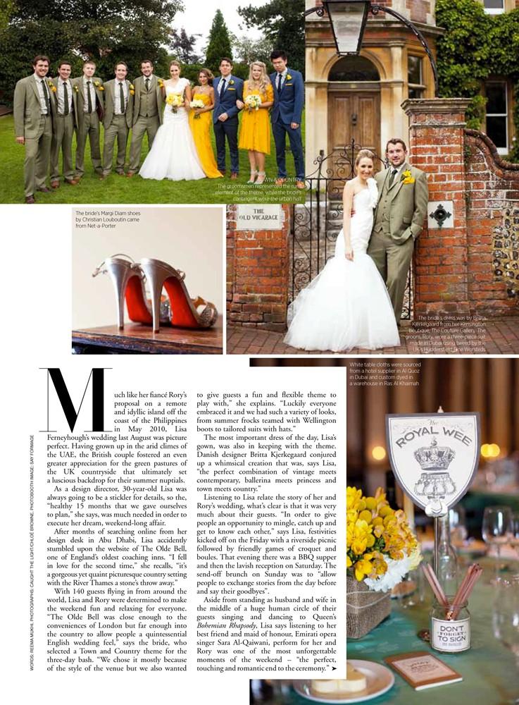 Harpers Bazaar Arabia 2012 - 1/4