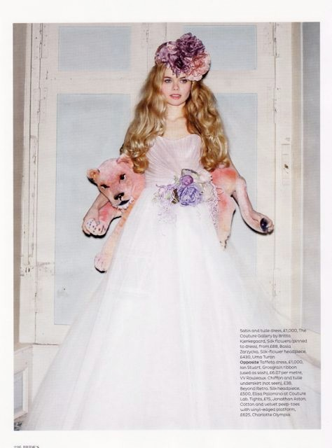 Brides Magazine May/June 2012 - Debutante Demi