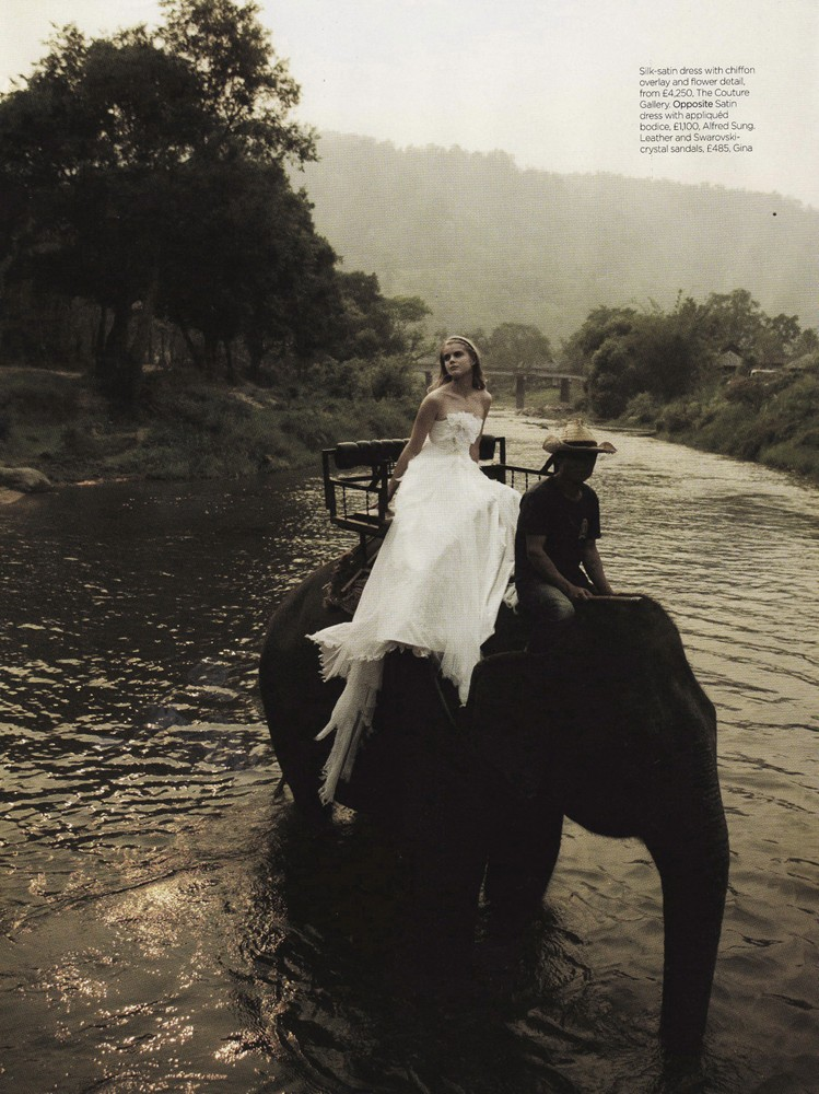 Brides Magazine March/April 2011 - Swan Gown