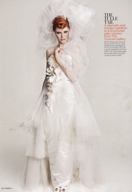 Brides Magazine Sep/Oct 2011 - Miro Gown