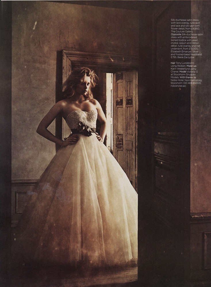 Brides Magazine Sep/Oct 2011 - The Debutante Gown