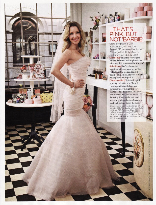 Brides Magazine Nov/Dec 2011 - The Diamond Organza