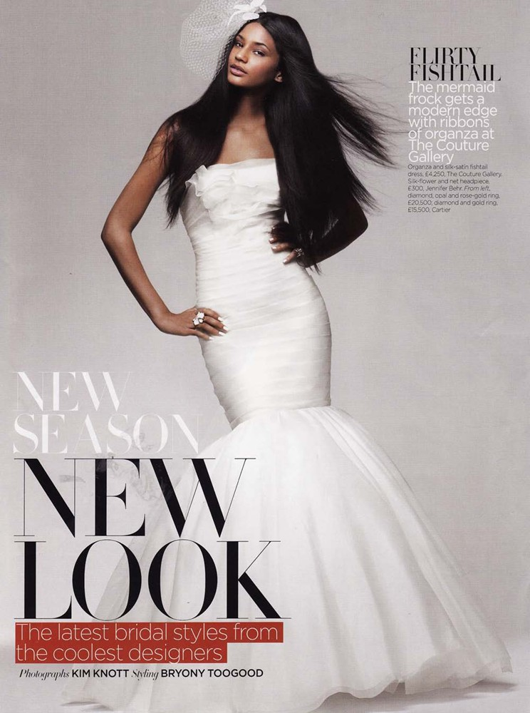 Brides Magazine Jan/Feb 2011 - Diamond Gown