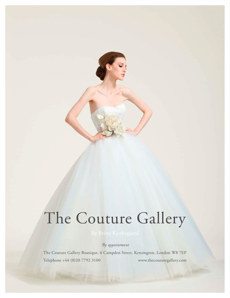 Brides Magazine Nov/Dec 2010 - Debutante Gown