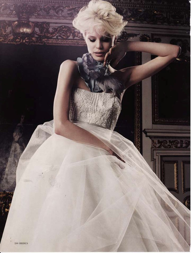 Brides Magazine Jul/Aug 2010 - Debutante Gown