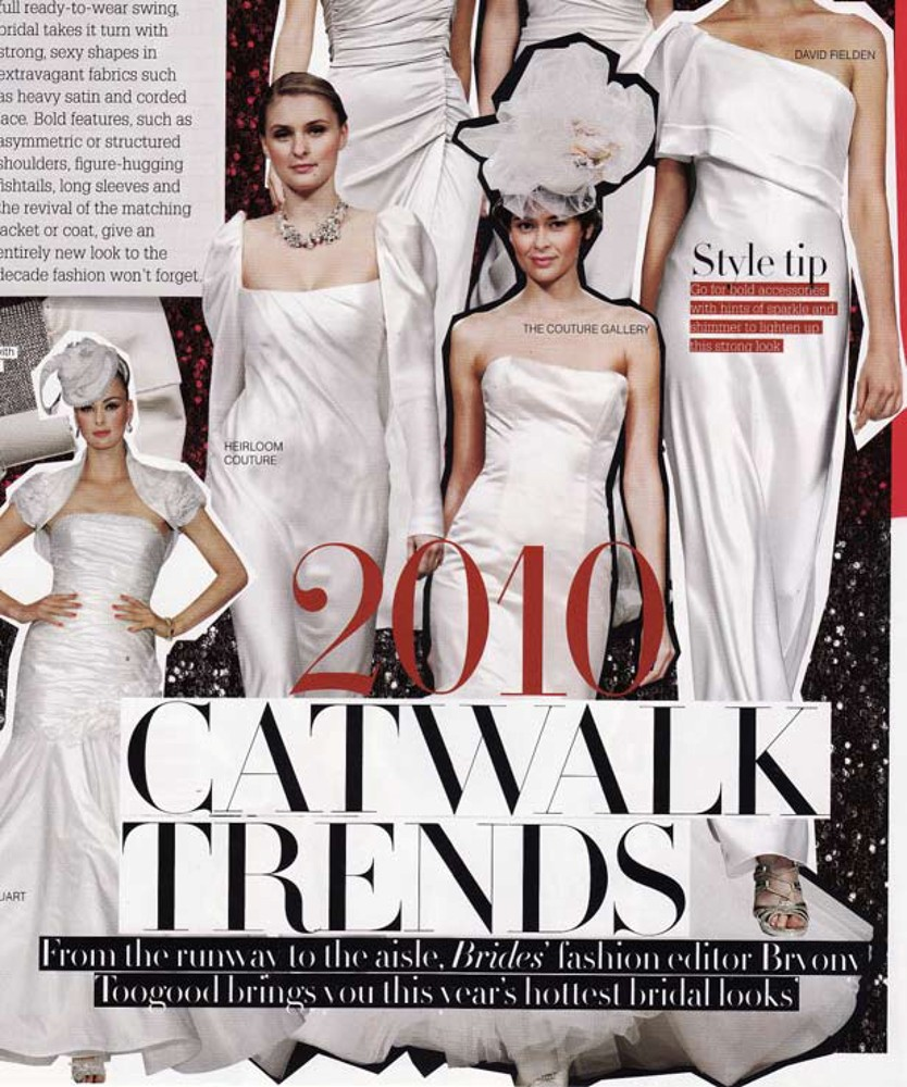 Brides Magazine Jan/Feb 2010 - Blush Diamond Gown