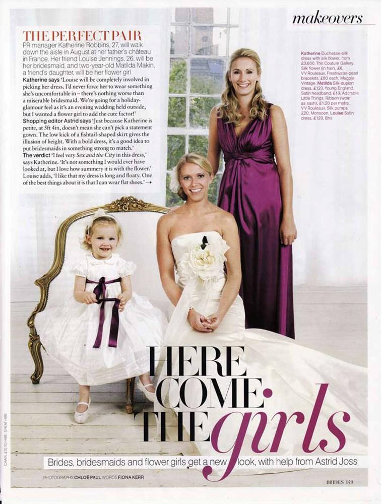 Brides Magazine Jan/Feb 2010 - Soraya Gown