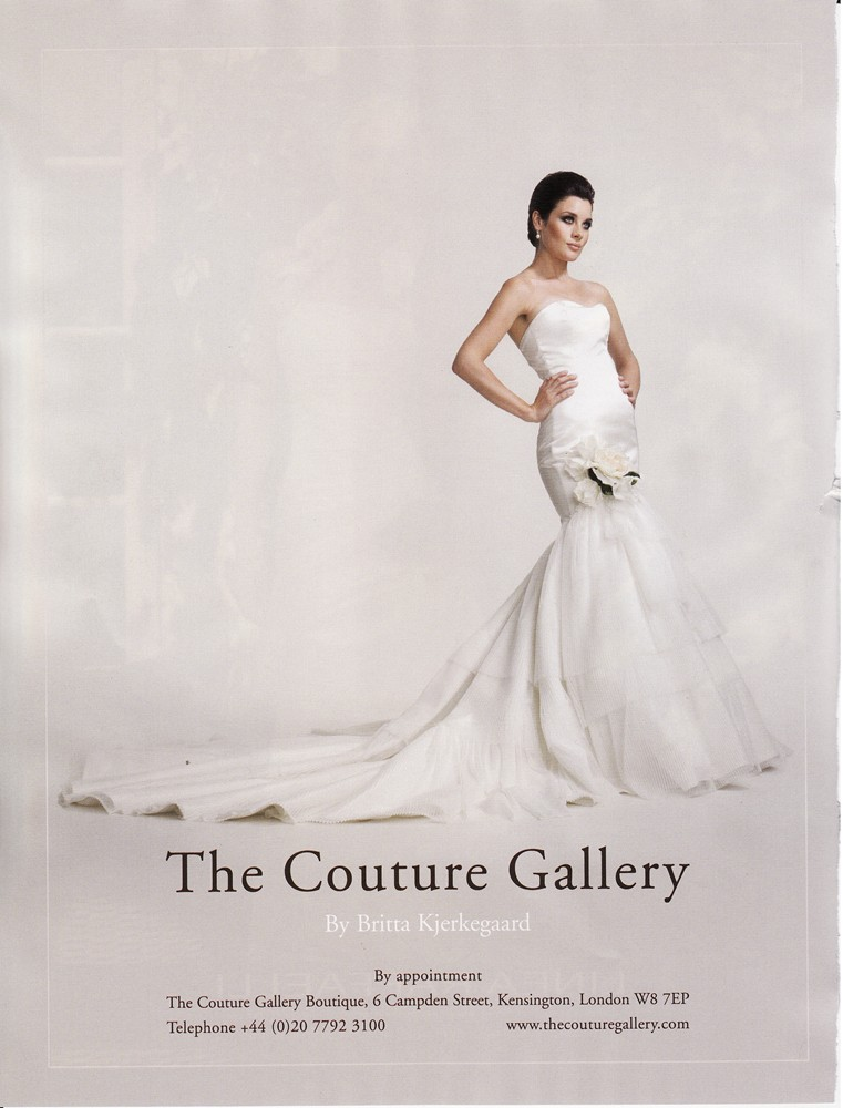 Brides Magazine Nov/Dec 2009 - Elouise Gown