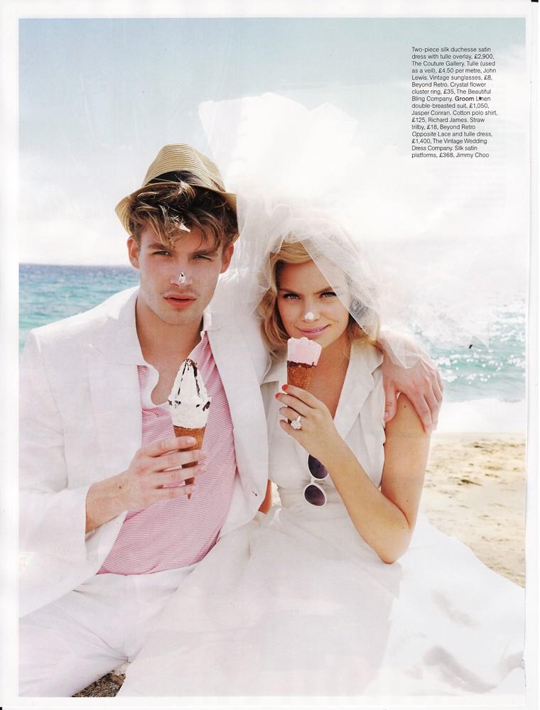 Brides Magazine Nov/Dec 2009 - Elegance Dress
