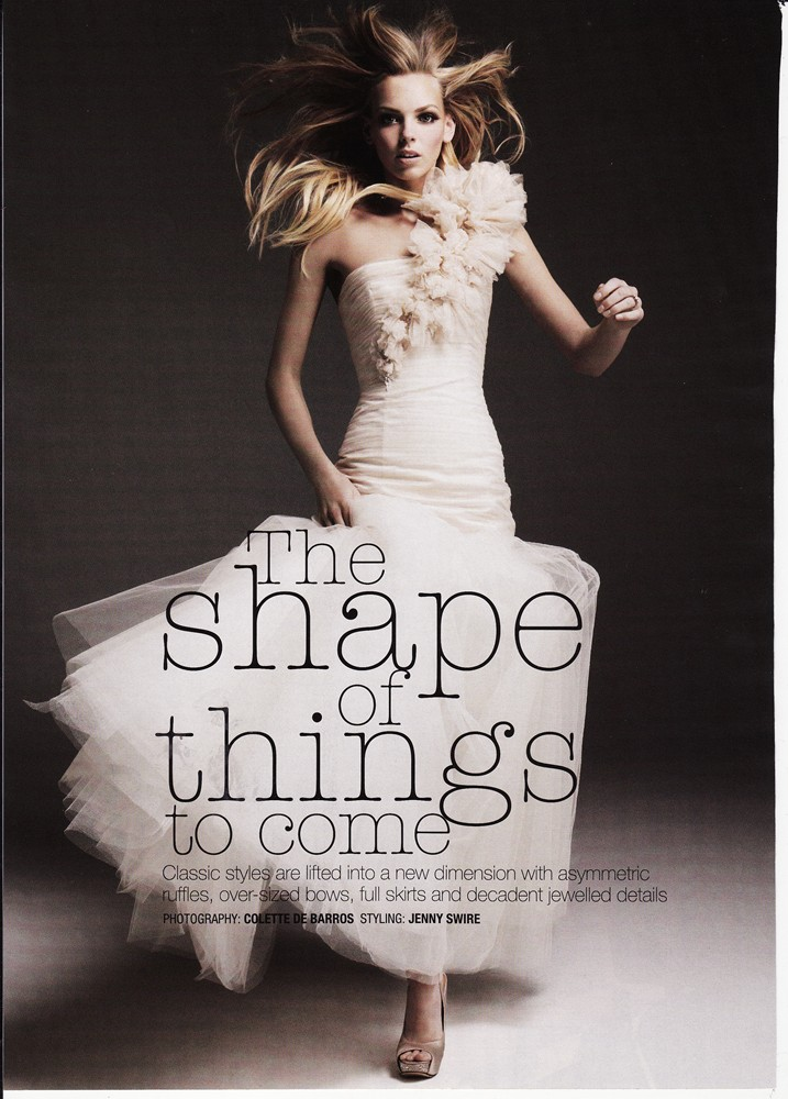 Cosmopolitan Bride Sep/Oct 2009 - Carmen Gown