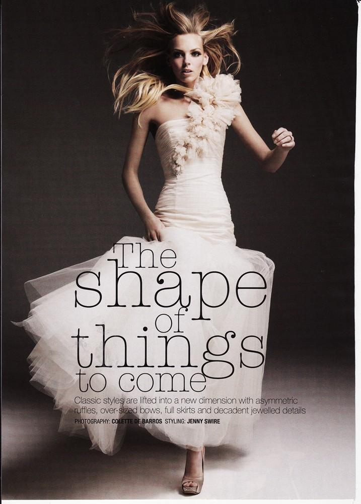 Cosmopolitan Bride Sep/Oct 2009 - Carmen Gown