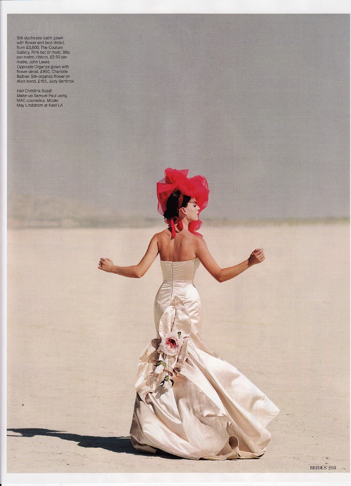 Brides Magazine March/April 2009 - Vivienne Gown