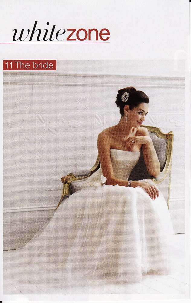 Brides Magazine July/August 2009 - Sapphire Dress