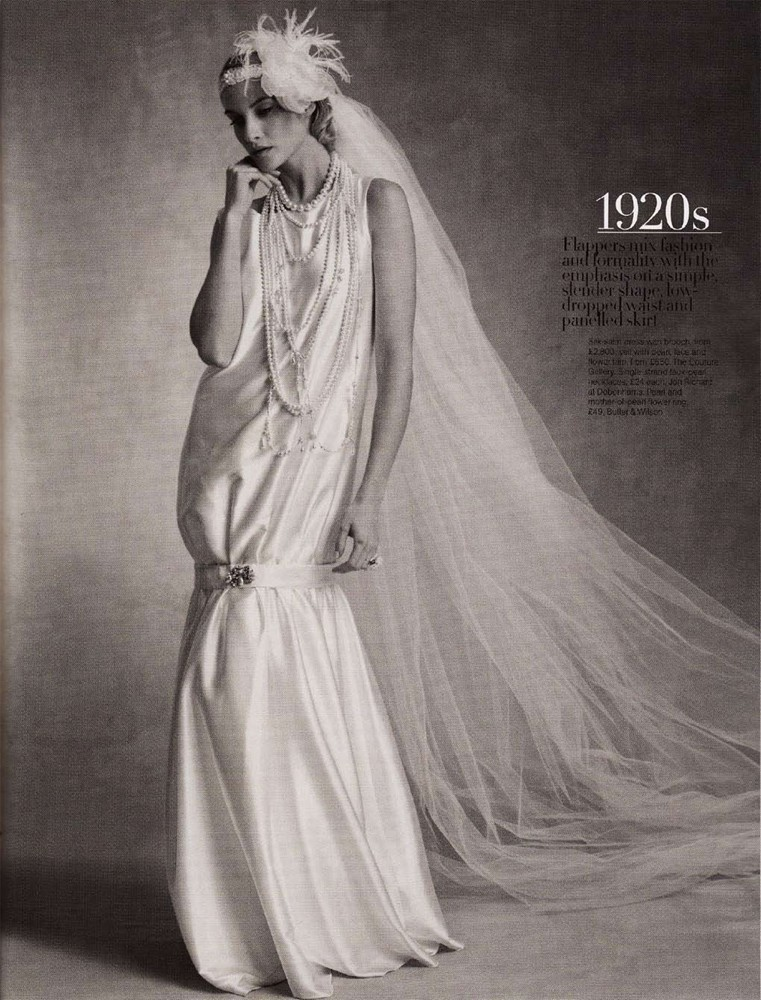 Brides Magazine March/April 2009 - Charleston Dress