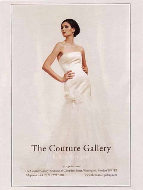 Brides Magazine Nov/Dec 2008 - Sapphire Dress