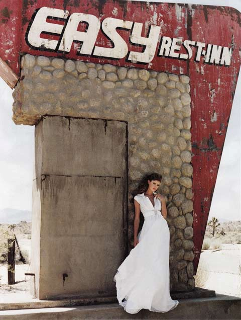 Brides Magazine Nov/Dec 2008 - Bryony Shirt Dress