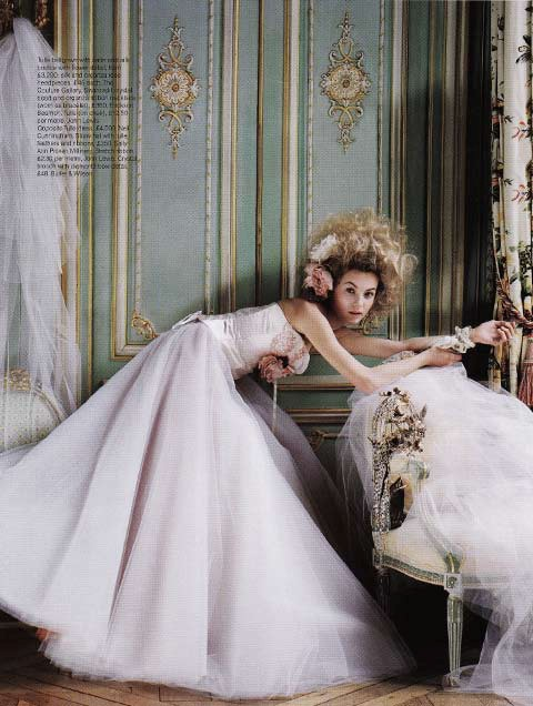 Brides Magazine Sep/Oct 2008 - Ballerina Dress
