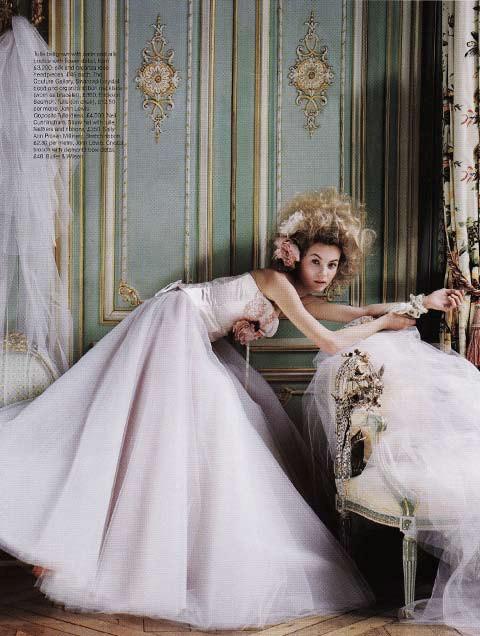 Brides Magazine Sep/Oct 2008 - Ballerina Dress