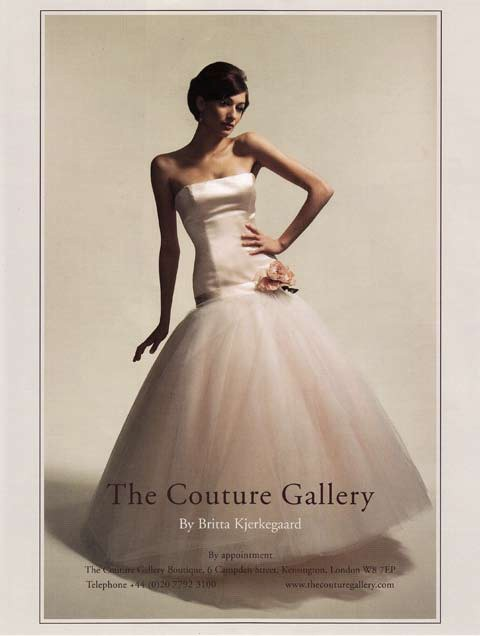 Brides Magazine July/Aug 2008 - Loewe Dress