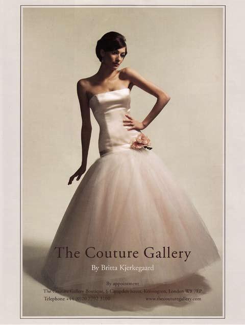 Brides Magazine July/Aug 2008 - Loewe Dress